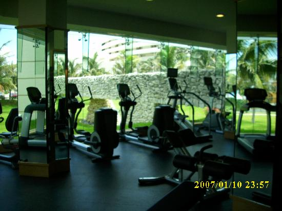 Pic Of The Gym Picture Of Grand Park Royal Cancun Caribe