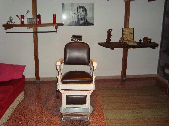 Casa Vacanza Stefano Spallino: Salón del apartamento