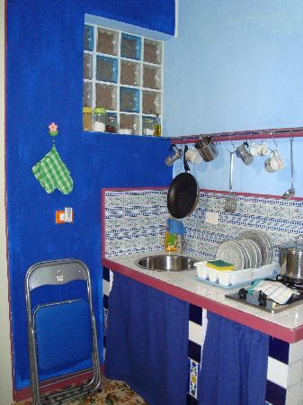 Casa Vacanza Stefano Spallino: Cocina habitación via vespri