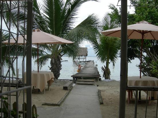 Hotel Dona Mara Bed & Breakfast: Vista desde el frente