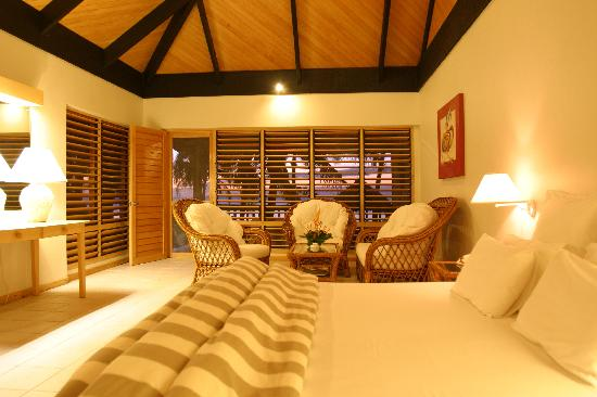 Sonaisali Island Resort Fiji: Interior of Oceanview & Beachfront Spa
