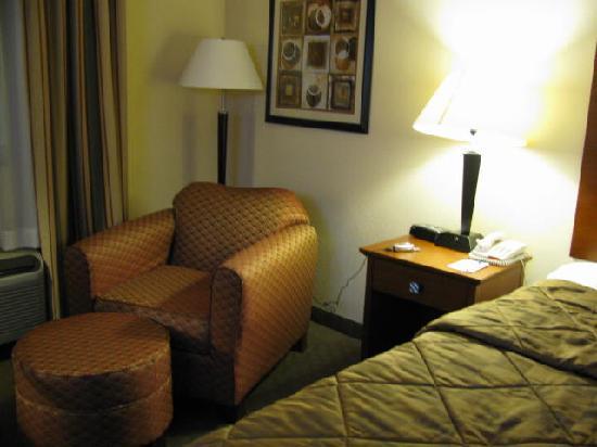 Comfort Inn Huntsville: Hotel room