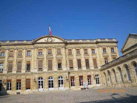 Бордо, Франция: Bordeaux - inside City hall