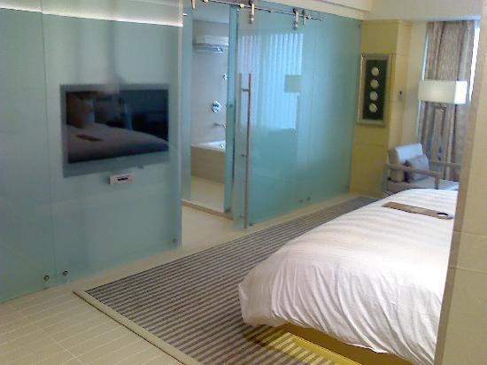 Lotte Hotel Seoul: ダブルベットです