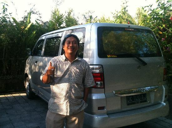 Putu our Driver from Sanur