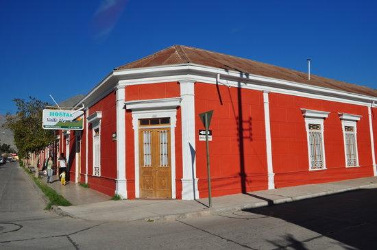 Vicuna, Чили: Vista esquina