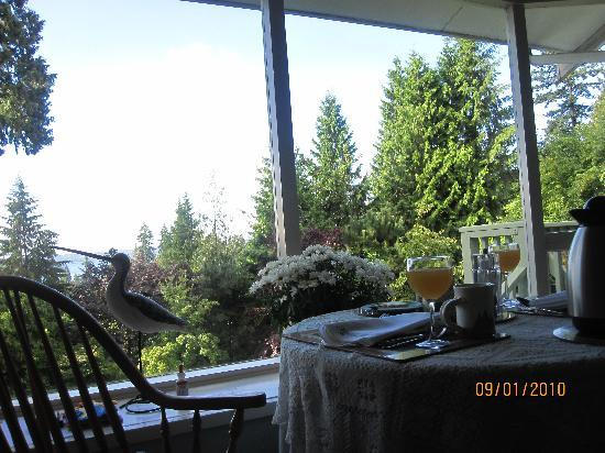 BayView Bed and Breakfast: the view