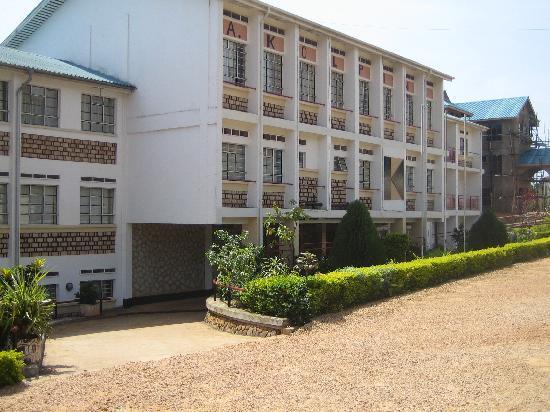 Bukoba, Tansania: Entrance to the Kolping Hotel