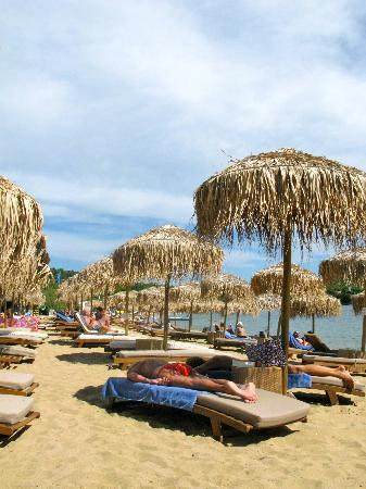 Agia Paraskevi, Greece: Beach beds