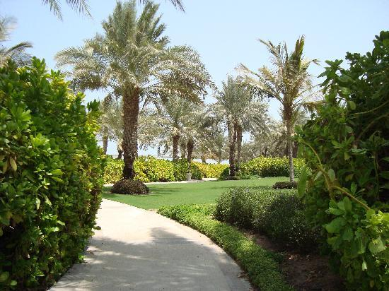Residence&Spa at One&Only Royal Mirage Dubai : Well mainted gardens