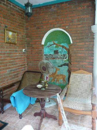 Heaven on Earth Guesthouse: Terrasse