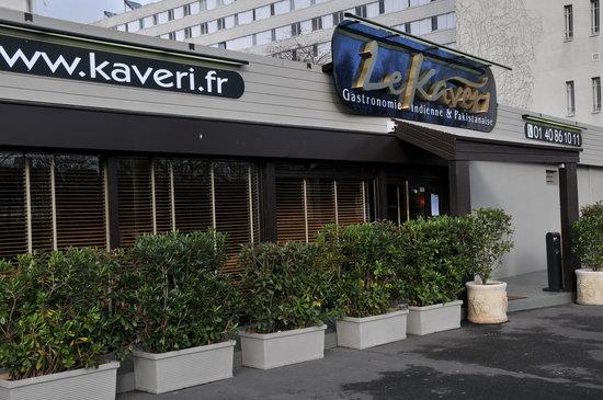 Le Kaveri: Façade sympa à l'abri des regards