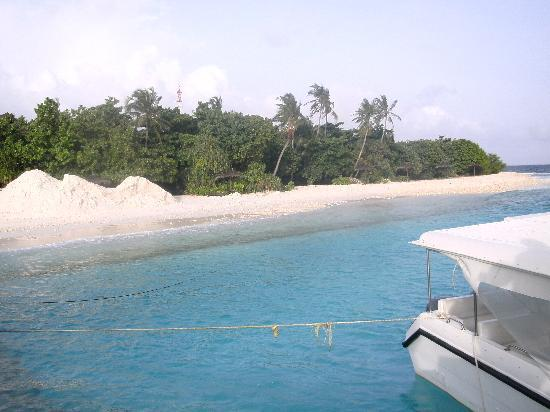 J Resorts Alidhoo: view from the service jetty