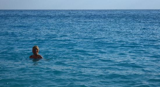 Porto Katsiki: I finally got in the sea .. after a LONG climb down!