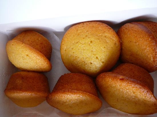 Durham's Best Barbeque: 1/2 dozen YUMMY corn muffins from Durham's Best BBQ