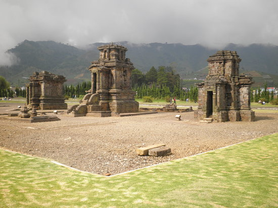 Dieng, Indonesien: Arjuna Tempel Komplex