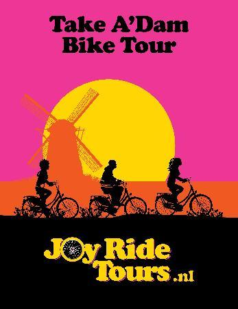 Joy Ride Tours: Take A'dam Bike Tour!