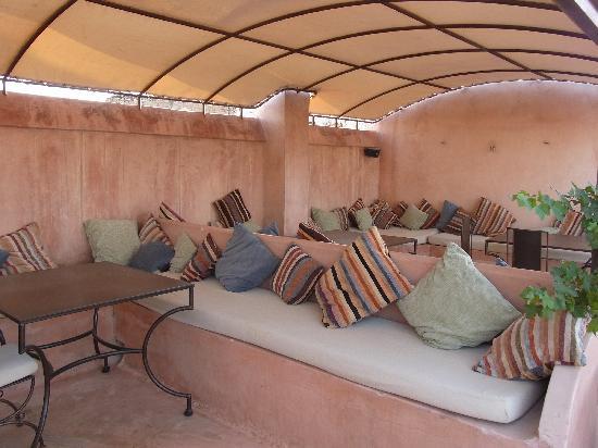 Riad Laaroussa Hotel and Spa: Riad Laaroussa - Dachterrasse 2