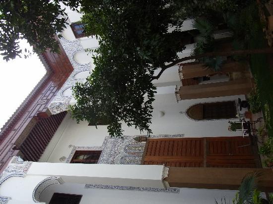 Riad Laaroussa Hotel and Spa: Riad Laaroussa - Innenhof 3