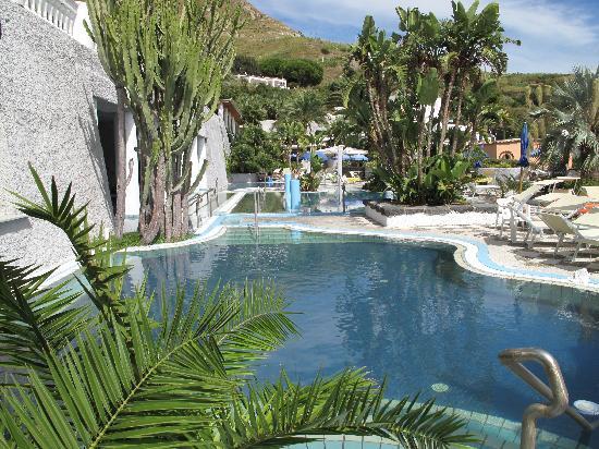 Park Hotel & Terme Romantica: Piscina termale