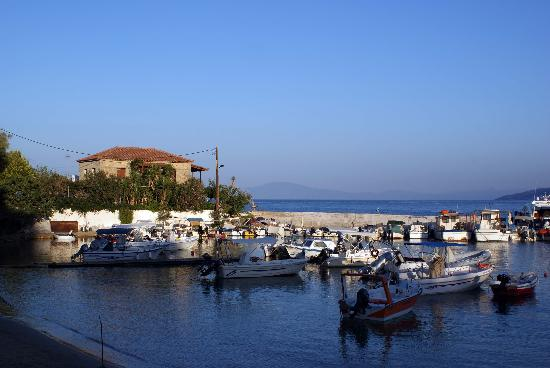 The Hotel Stoupa : Early Morning in Stoupa