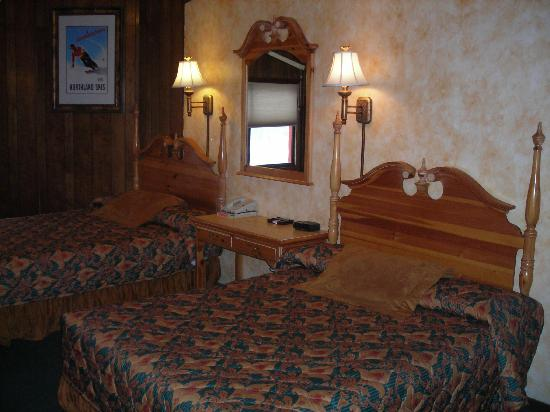 Tyrolean Lodge: big, clean rooms