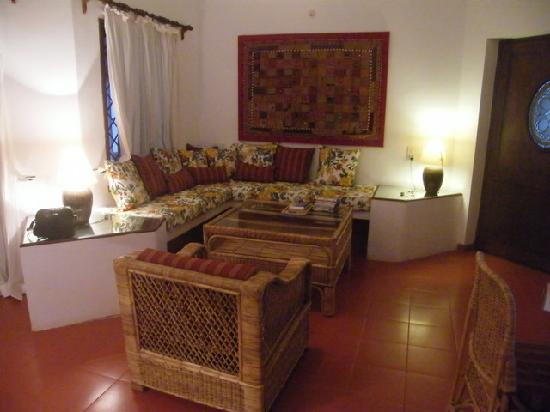 Casa Mia, Goa: Casa Mia living room