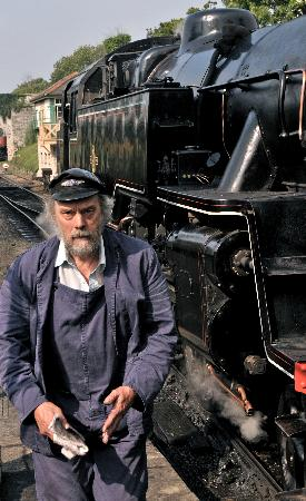 Swanage Railway: the driver