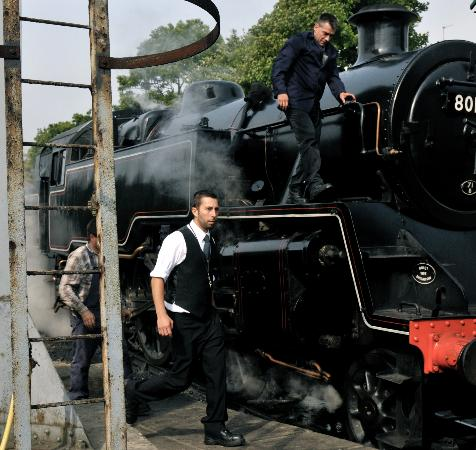 Swanage Railway: all hands on deck