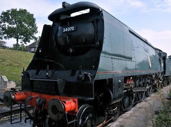 Swanage Railway: the beast