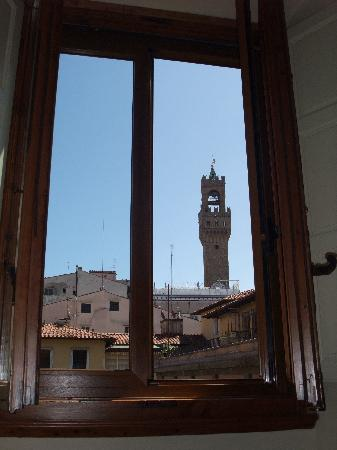Relais Cavalcanti: view out the window from the bed!