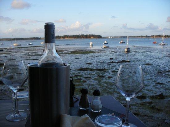 Locmariaquer, Γαλλία: vista dal ristorante