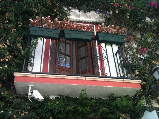 La Villa Marbella : Balkon des Boraqay-Zimmers