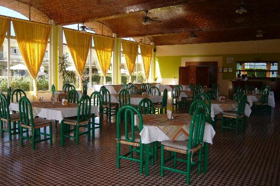 Centro Vacacional Issemym: comedor, Hotel ISSEMyM