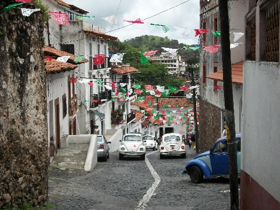 Taxco, Meksyk: up and down