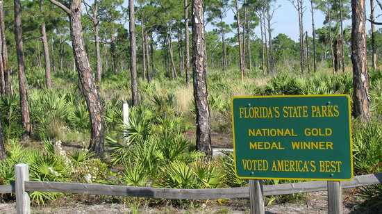 Port Saint Lucie, FL: Entrance to Savannas Preserve State Park