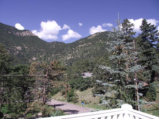 Eastholme in the Rockies: View of Pikes Peak from balcony