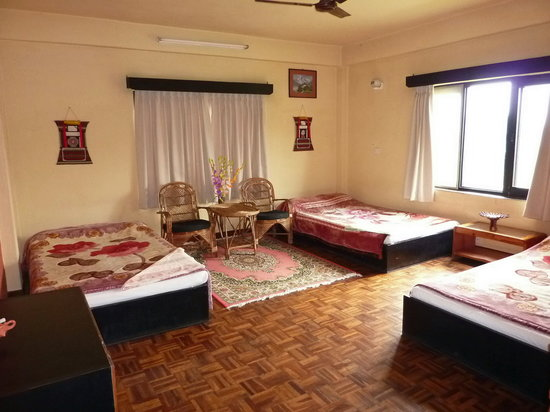 Planet Bhaktapur Hotel: our friends room
