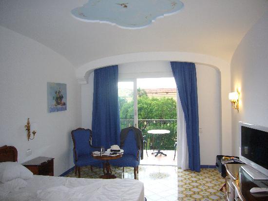 the deluxe bedroom