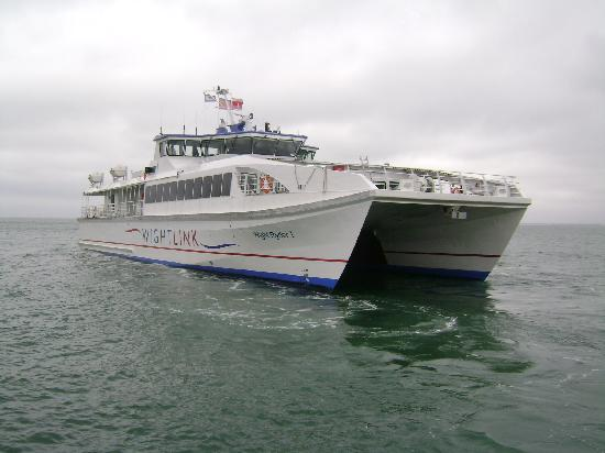 Wightlink Fast Cat Picture Of Ryde Isle Of Wight
