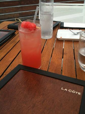 Summer Fling @ La Cote = best cocktail ever!