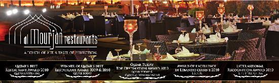 The Award Winning Restaurant - Al Mourjan
