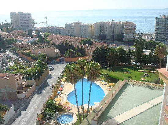 Hotel Monarque Torreblanca: vistas desde la habitacion.