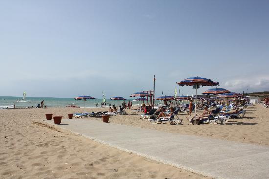 Club Med Kamarina: La plage