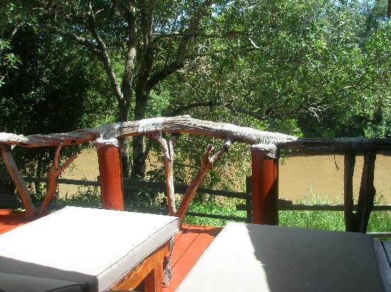 Royal Mara Safari Lodge: The lovely view