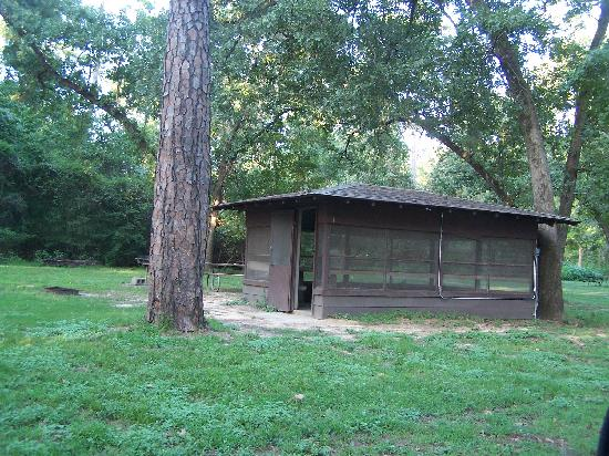 Bon Huntsville State Park: Screened Shelter S2 $30+$4 Per Person
