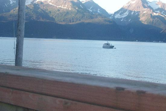 Alaska Base Camp: View off of deck