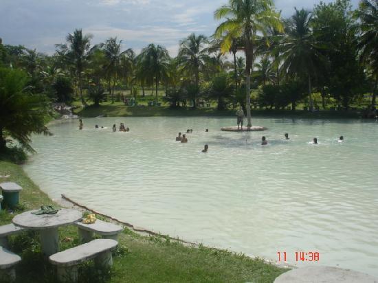 Las Aguas de Moises: piscina isla sola