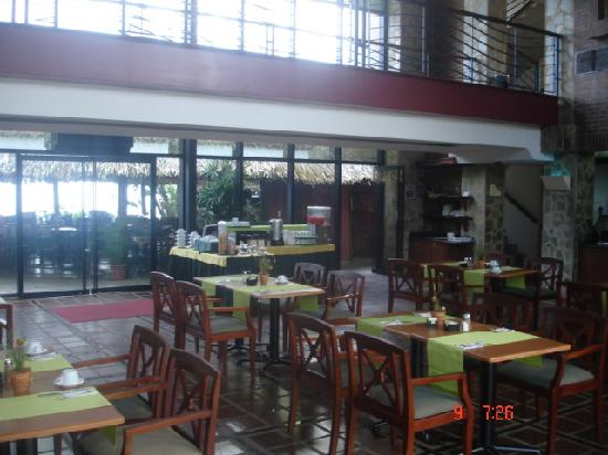 Hotel Eco Inn: restaurant donde se sirve el desayuno