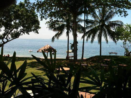 Turi Beach Resort: view from breakfast hall